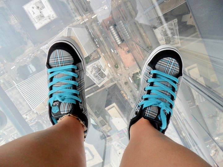 Chicago The Ledge at Skydeck Willis Tower