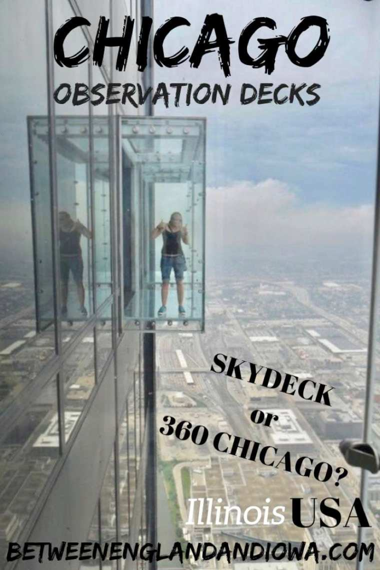 Chicago Observation Decks. Which is better Skydeck at the Willis Tower or 360 Chicago at the John Hancock Tower. The Ledge, Tilt, Yoga, you decide! USA