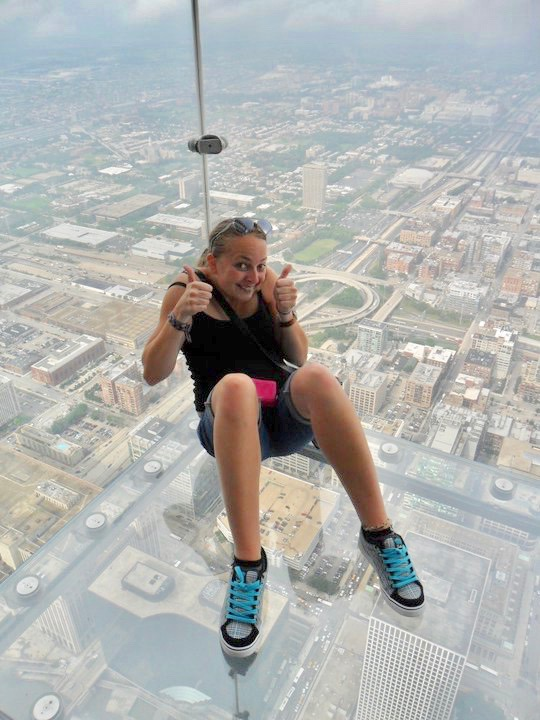 Skydeck The Ledge at the Willis Tower Chicago