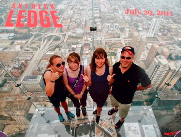 Chicago Skydeck Ledge