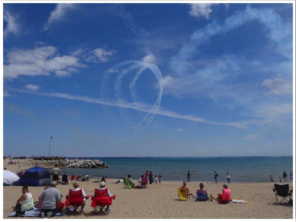 Lake Michigan Beaches Bradford Beach WI Janet Go Learn Things
