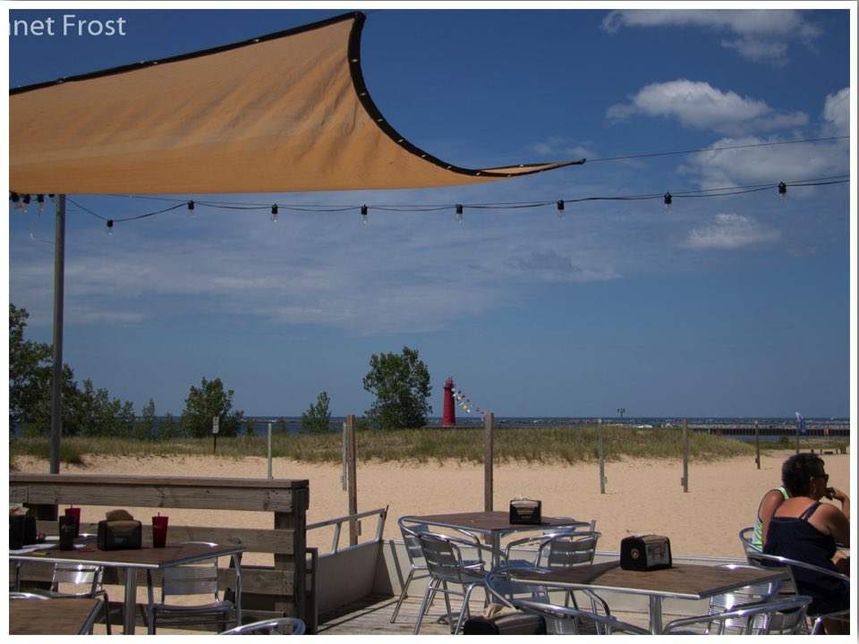 Lake Michigan Beaches Muskegon Beach MI Janet from Go Learn Things