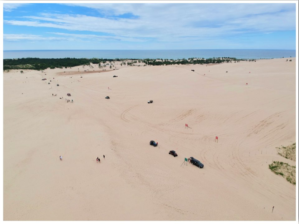Silver Lake Michigan Beach