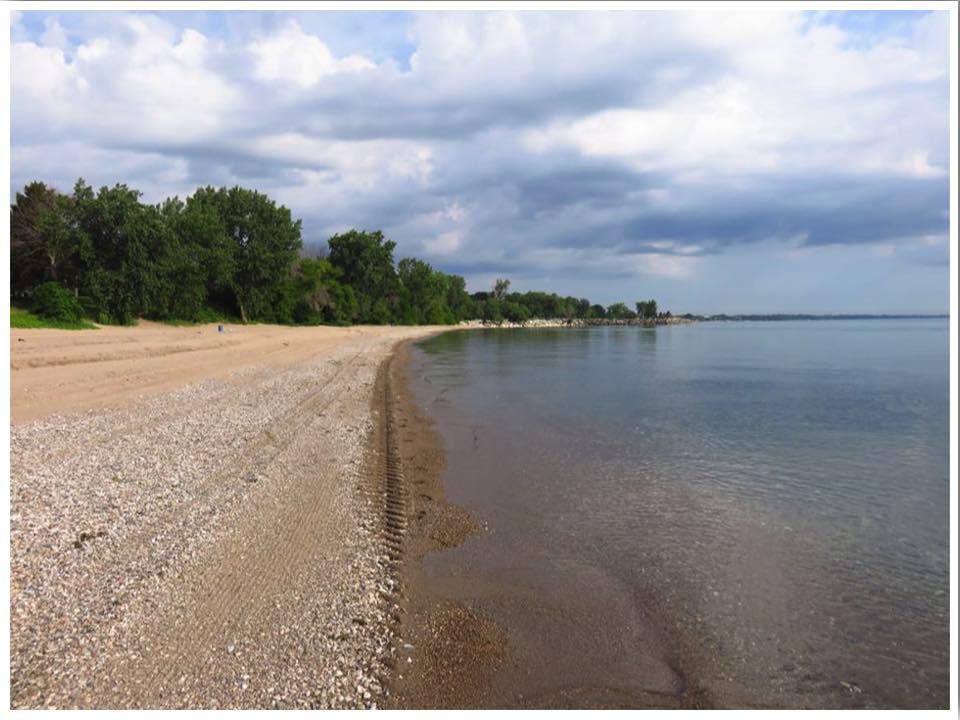 Simmons Island Beach Kenosha Wisconsin Lake Michigan Beaches