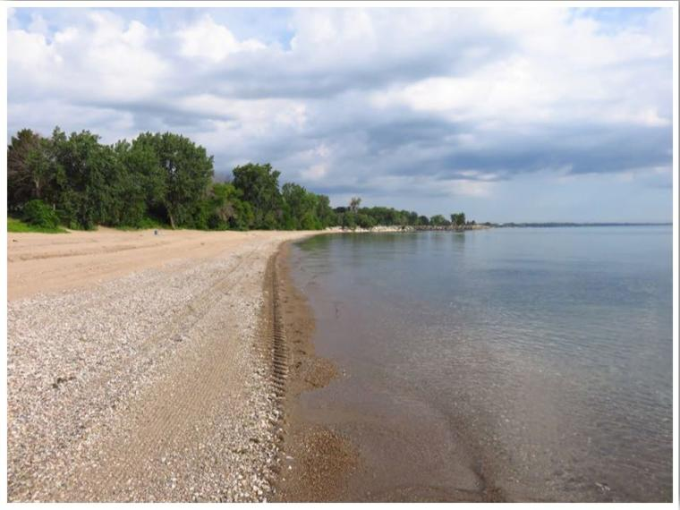 Simmons Island Beach Kenosha Wisconsin Lake Michigan Beaches
