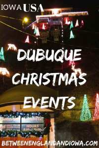 Dubuque Christmas Events in Iowa USA! Get in the Christmas spirit with these fun family events in East Iowa!