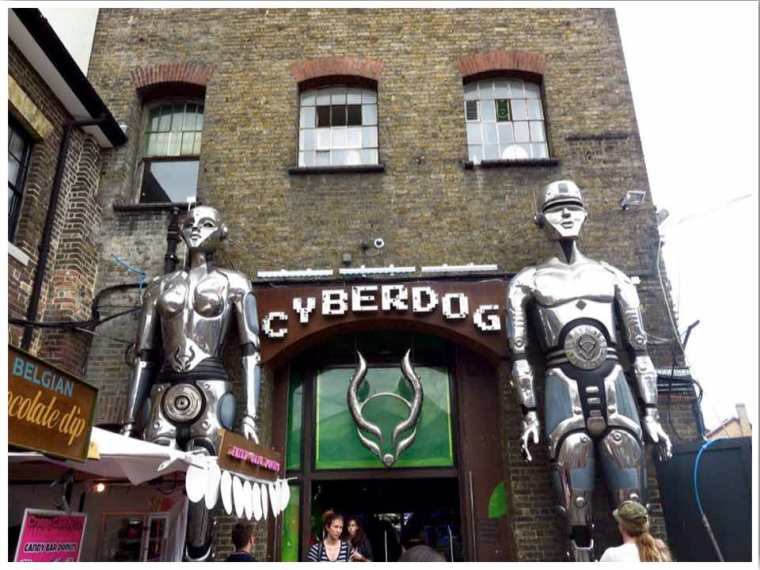 London Camden Town Cyberdog