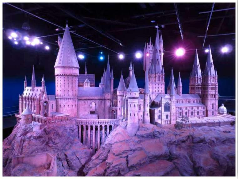 London WB Studio Tour The Making of Harry Potter Hogwarts Castle