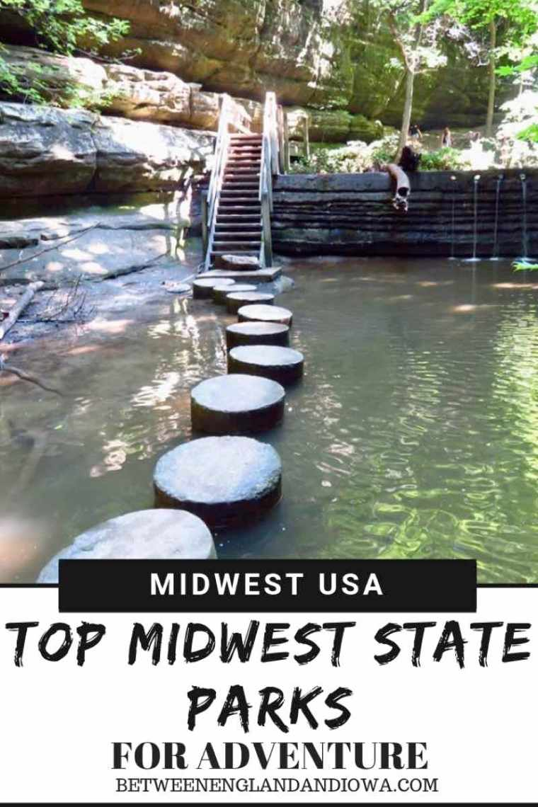 Top Midwest State Parks For Adventure. From waterfalls, to off-roading, to glamping in a yurt. What adventure travel would you take in the American Midwest?