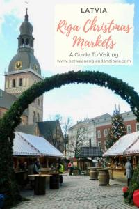 A Guide to visiting the Riga Christmas Markets in Latvia.