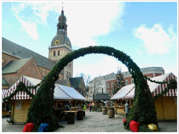 Riga Christmas Market Riga Cathedral Lativa