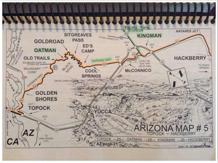 Sitgreaves Pass EZ66 Map