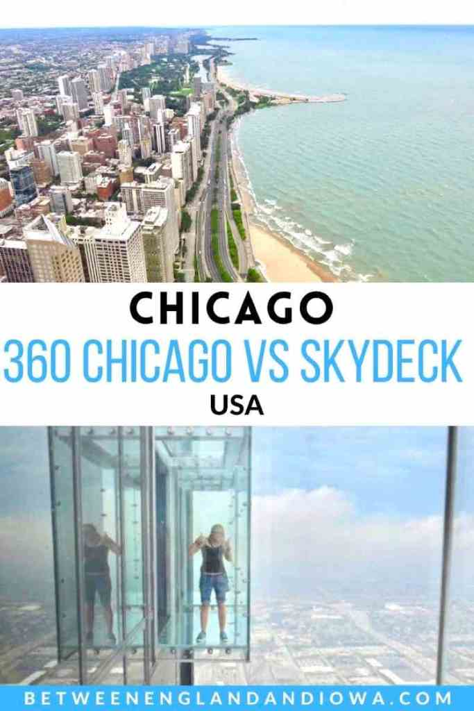 360 Chicago vs Skydeck Chicago USA