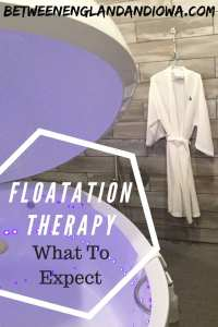 Have you been in a floatation tank? Find out what floatation therapy is like in this post!