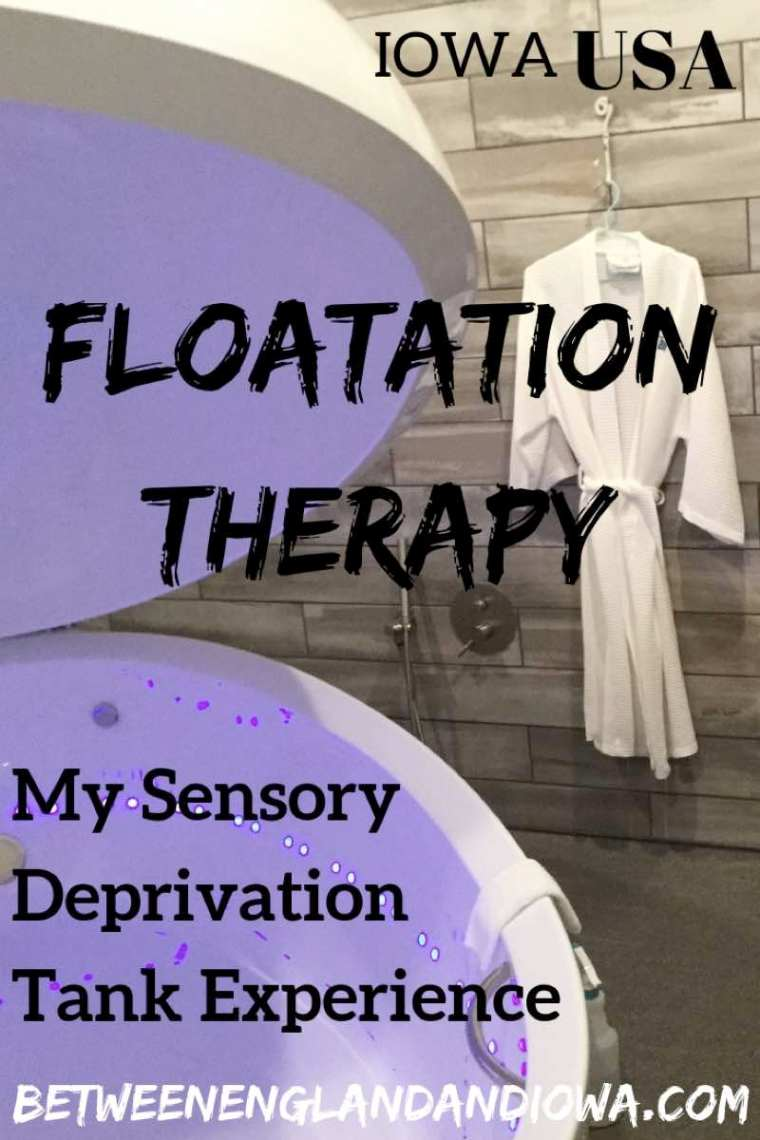 Floatation Therapy. My experience on what it's like in a Sensory Deprivation Tank!