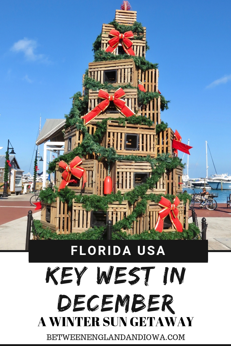Things to do in Key West in December: a winter sun getaway guide to the Florida Keys USA!