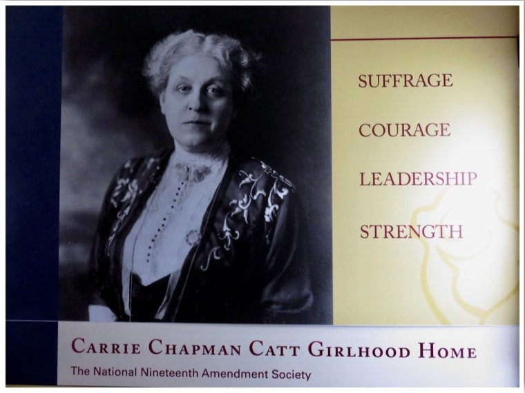 Charles City Carrie Chapman Catt Girlhood Home