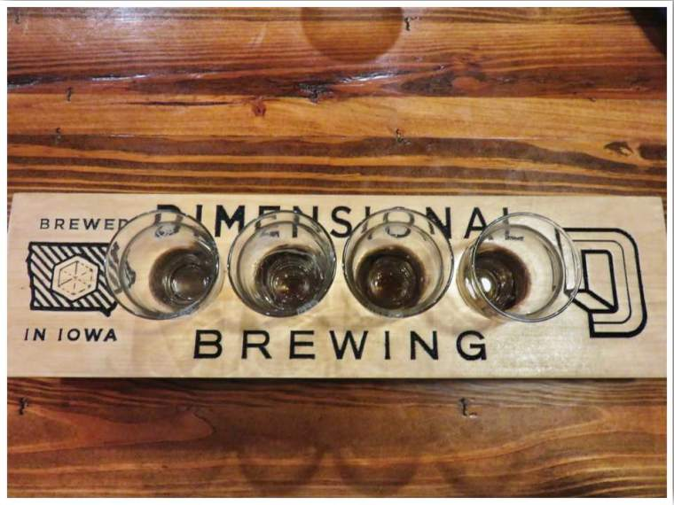 Dimensional Brewing Co Dubuque Iowa