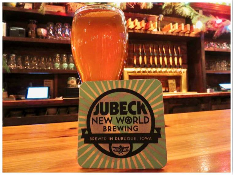Jubeck New World Brewing Dubuque Iowa