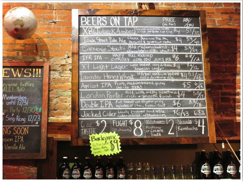 Dubuque Iowa Breweries Jubeck New World Brewing
