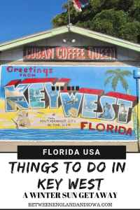 Things to do in Key West in December. A guide to a winter sun getaway to Key West in the Florida Keys!