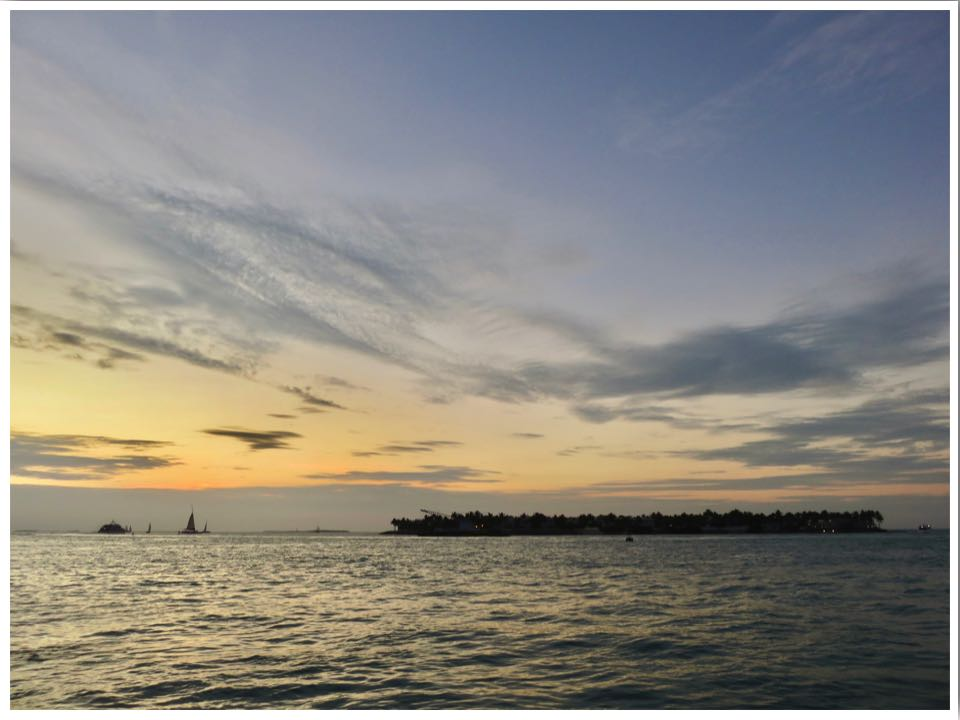 Key West Sunset in December