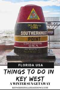 Things to do in Key West in December. A Florida Keys guide to Key West at Christmas!