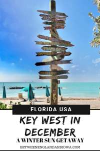A Guide to visiting Key West in December. A winter sun getaway to the Florida Keys. Traveling to Key West in Winter