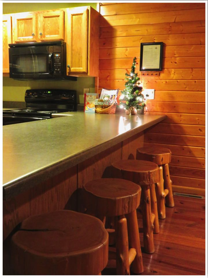 Red Cedar Lodge Kitchen