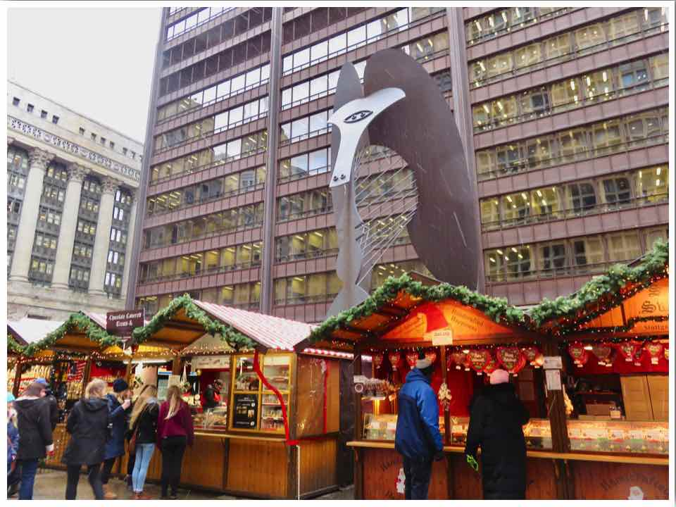Downtown Chicago Christmas Market