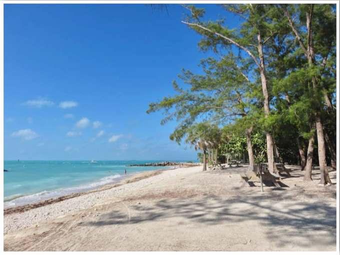 Key West Beaches Florida USA