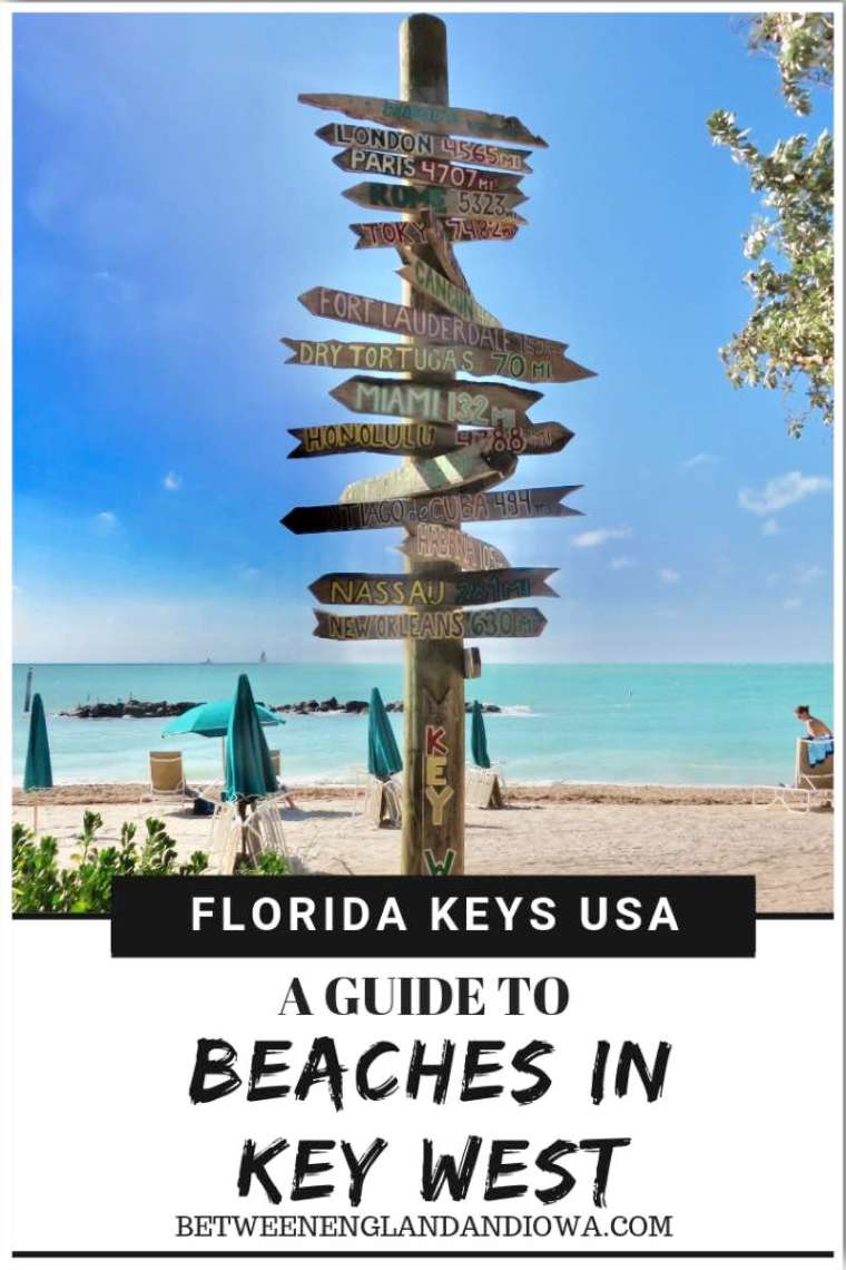 Key West Beaches. A guide to some of the best beaches in Key West Florida USA, including Key West beachfront hotels!