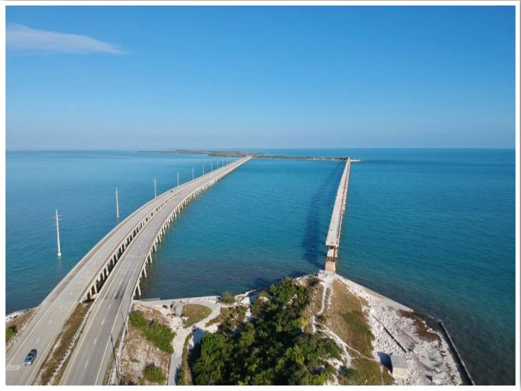 Marathon To Key West Overseas Highway Bahia Honda Rail Bridge