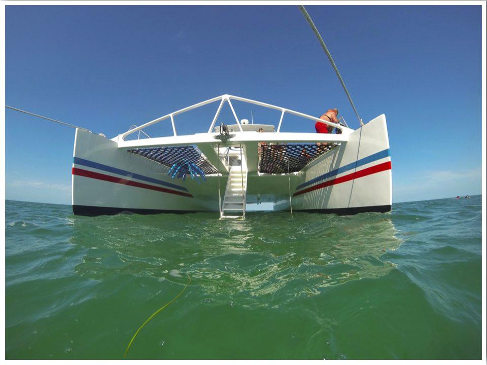Snorkelling Key West with Fury Catamaran snorkel boat