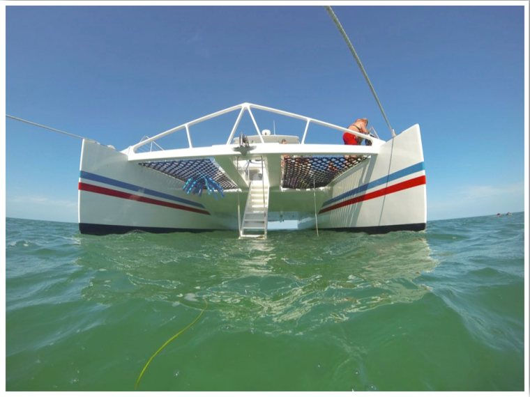 Snorkelling Key West with Fury Catamaran snorkel boat