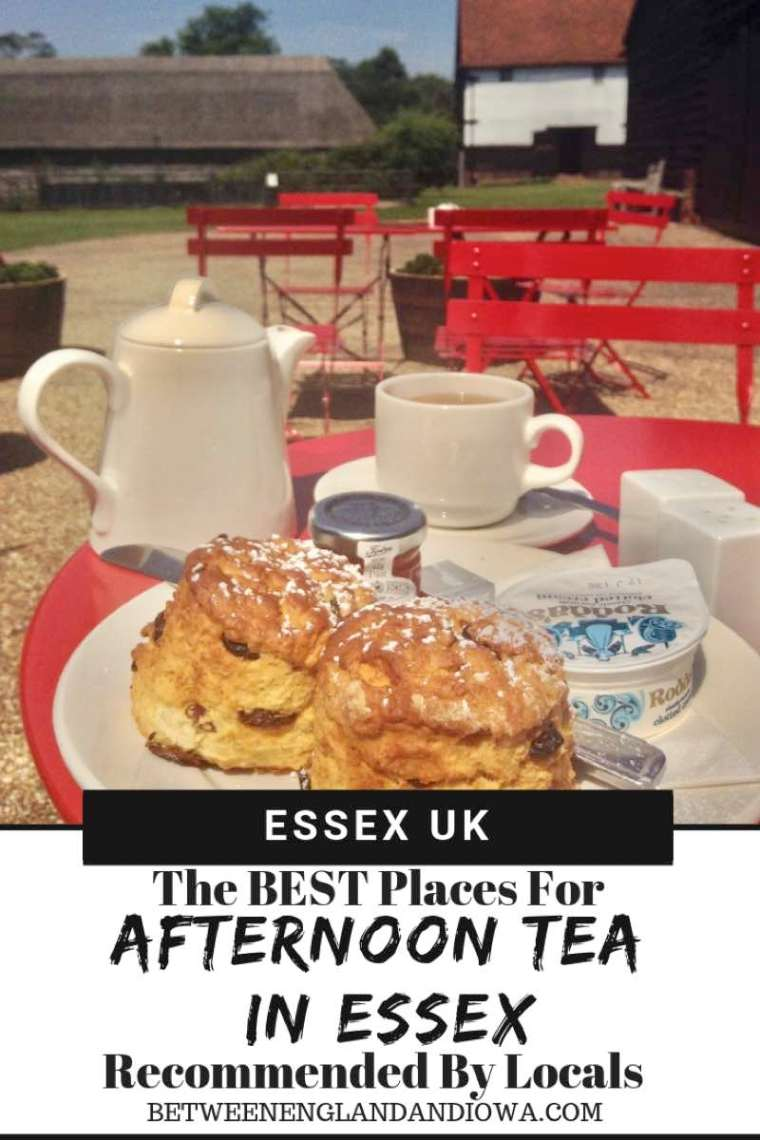 The Best Places To Go For Afternoon Tea in Essex UK Recommended by Locals!