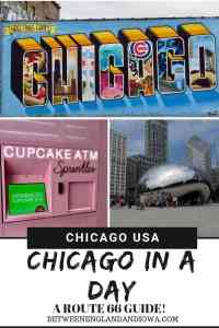 Chicago Route 66: One day in Chicago guide and where to stay when driving Route 66