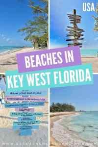 Beaches in Key West Florida