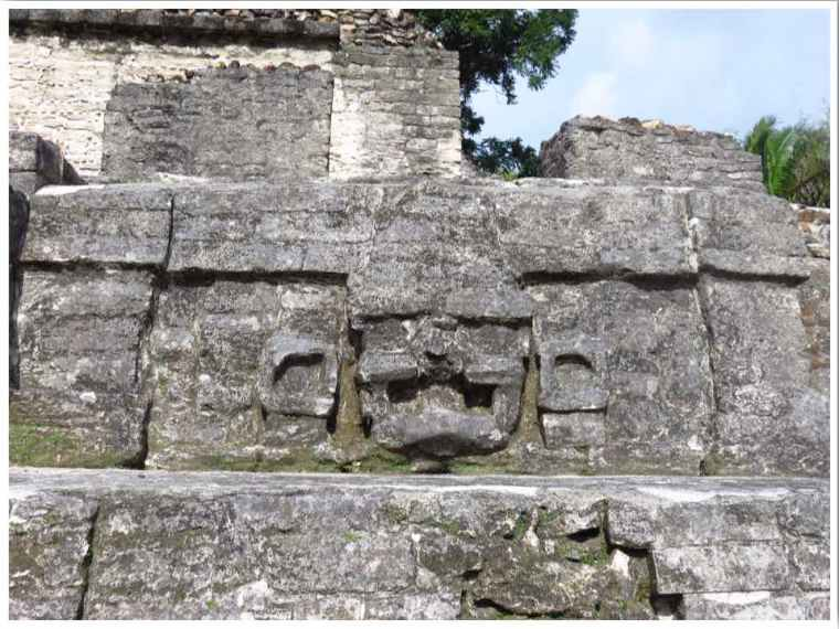 Belize Altun Ha sun god