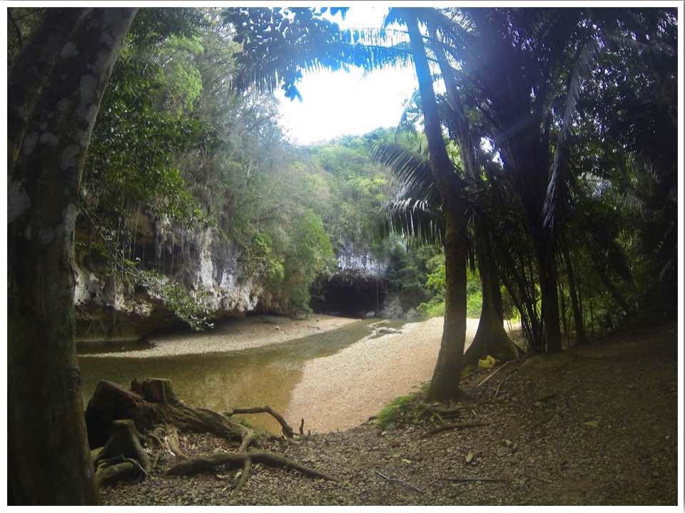 Belize cave tubing start