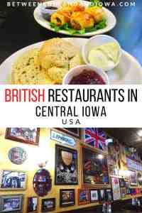British Restaurants in Iowa USA