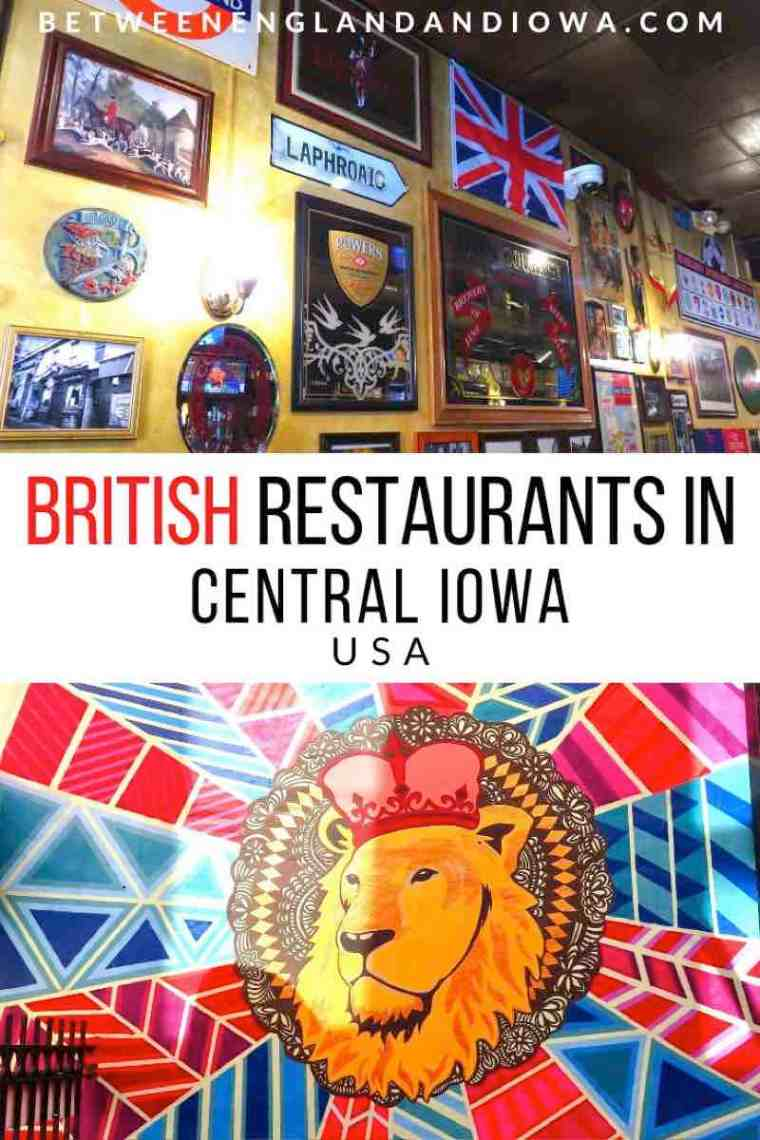 British Restaurants in Iowa