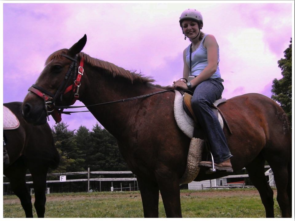 Camp America Horse Riding