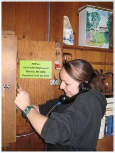 Summer camp pay phone
