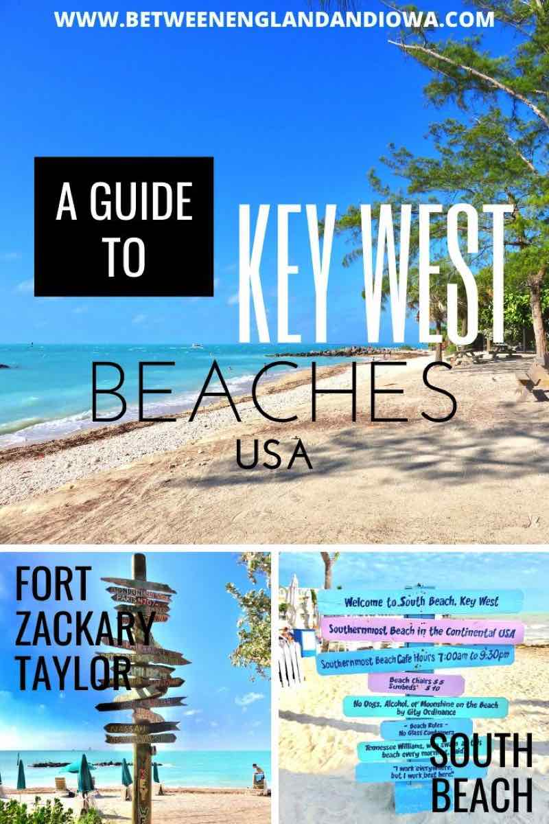 A guide to Key West Beaches Florida USA