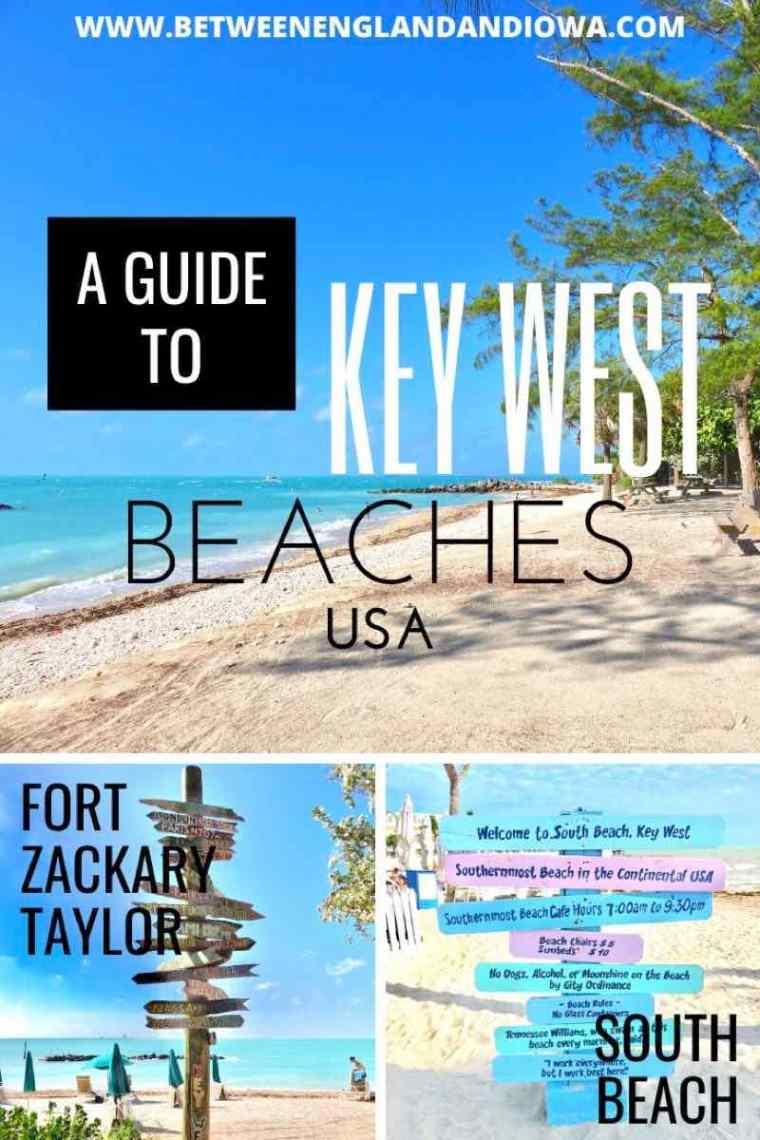 A guide to Key West Beaches Florida USA