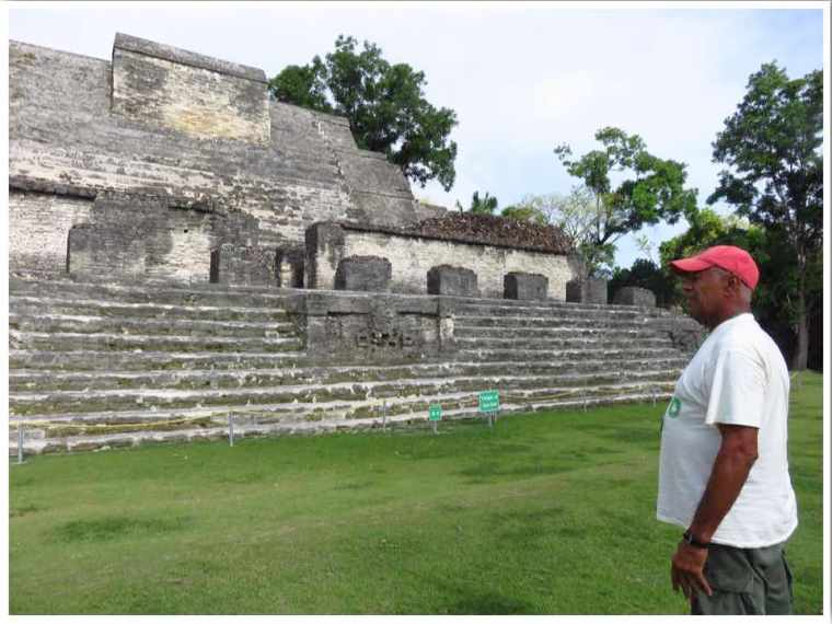 Belize Major Tom at Altun Ha
