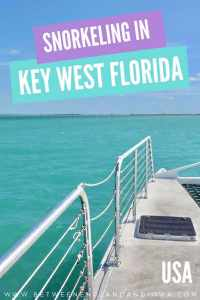 Key West Snorkel Tour