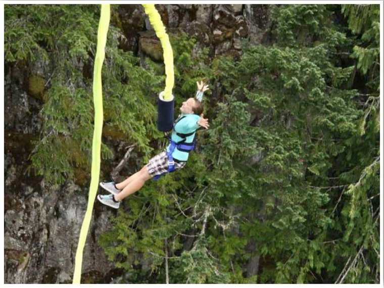 Whistler Summer Bungee Jump