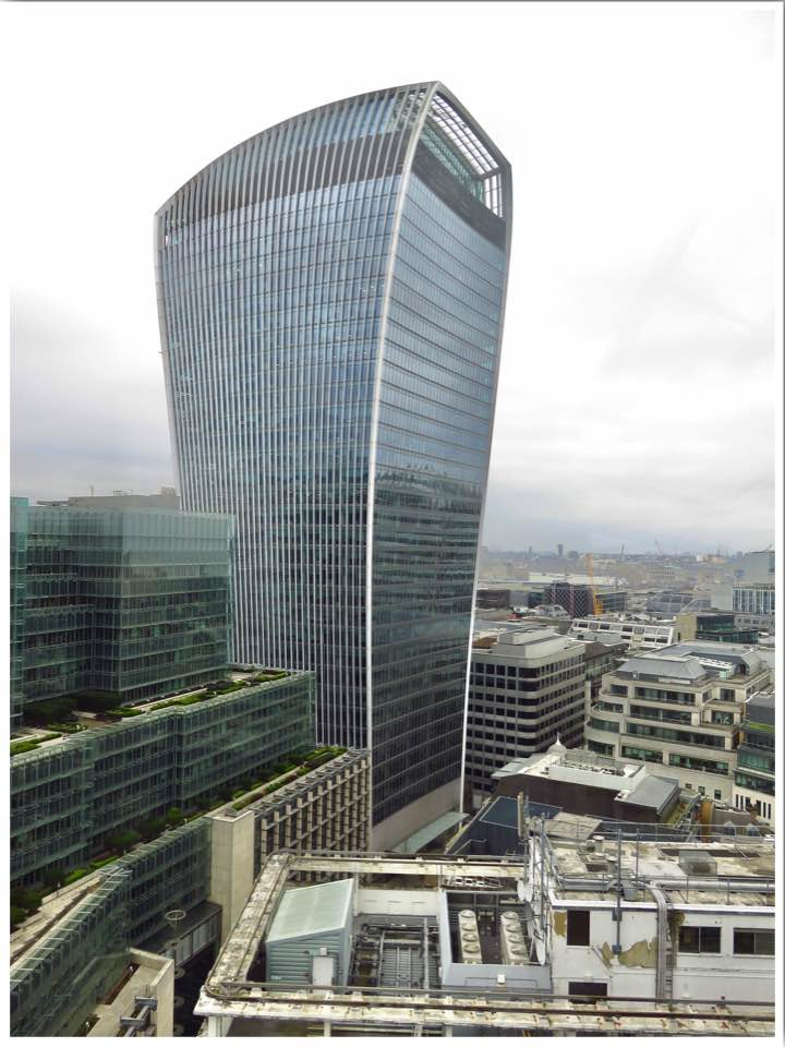 Walkie Talkie Building London (Sky Garden)
